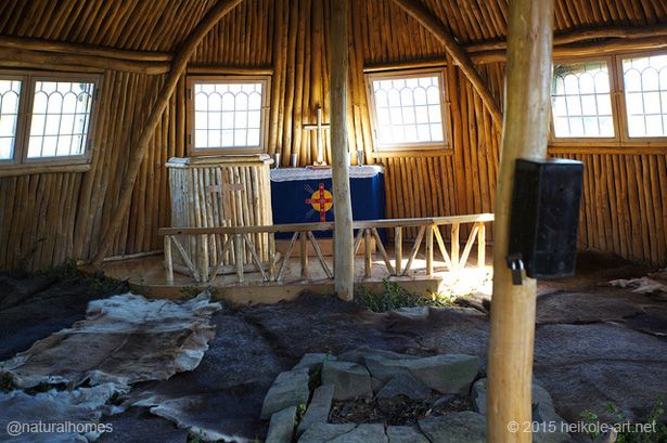 The Sami Turf House Church In Staloluokta Sweden Turf House Natural Homes Eco House