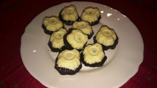 Prečo sa tento dezert vola Sandokanove oči netušíme, ale neprekáža nám to:) Je nepečený a to je občas veľká výhoda! :) Recepty, Nepečené zákusky | Tortyodmamy.sk