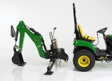 John Deere Backhoe Attachment >> John Deere 260 Backhoe Attachment Mutton Tractor Attachments