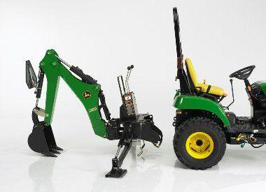 John Deere 260 Backhoe Attachment Mutton Tractor