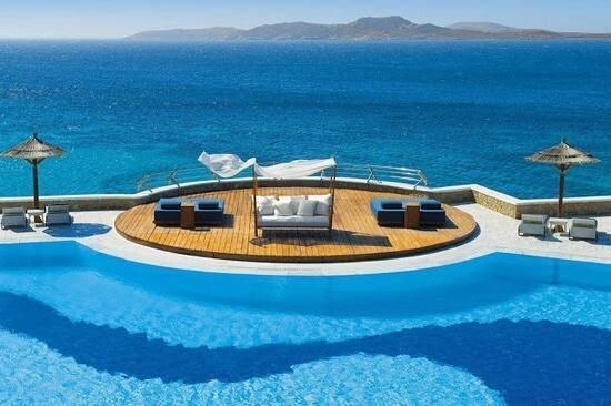 Mykonos Grand Hotel & Resort, Greece - Earth Pics Twitter pic.twitter.com/NGcDYSXVll