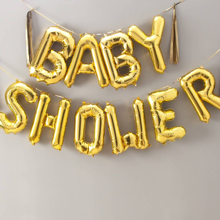 Shower  Inch Balloon Letters