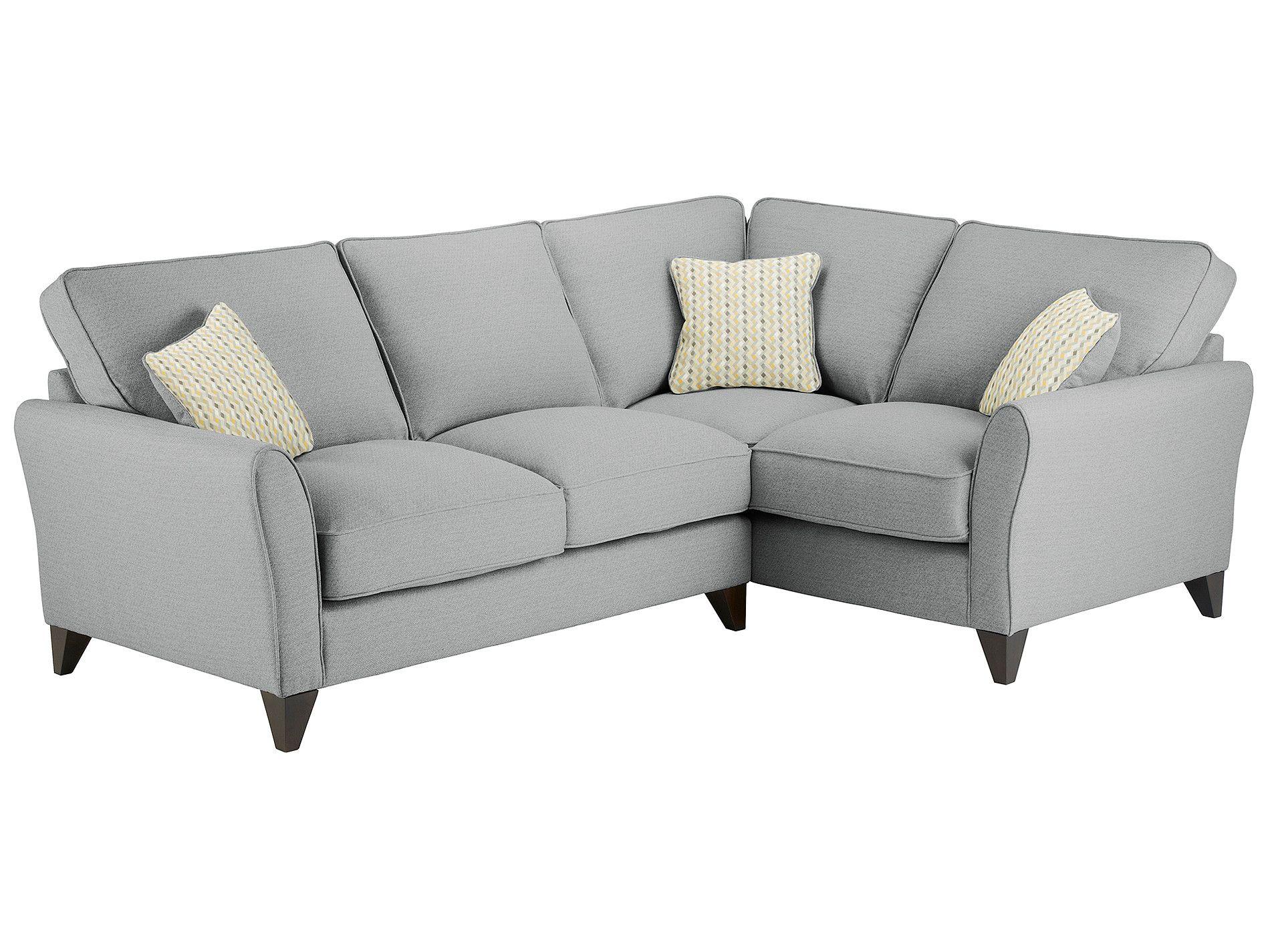 St Ives Corner Sofa Right Facing In Arezzo Silver Corner Sofa Sofa Furniture