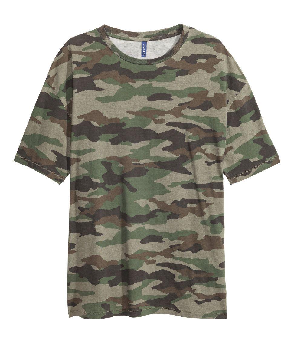 450b81ad7f82b Patterned T-shirt   H&M Divided Guys Camouflage T Shirts, Fashion Wear, Boy