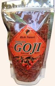 Super foods!  Goji Berries.