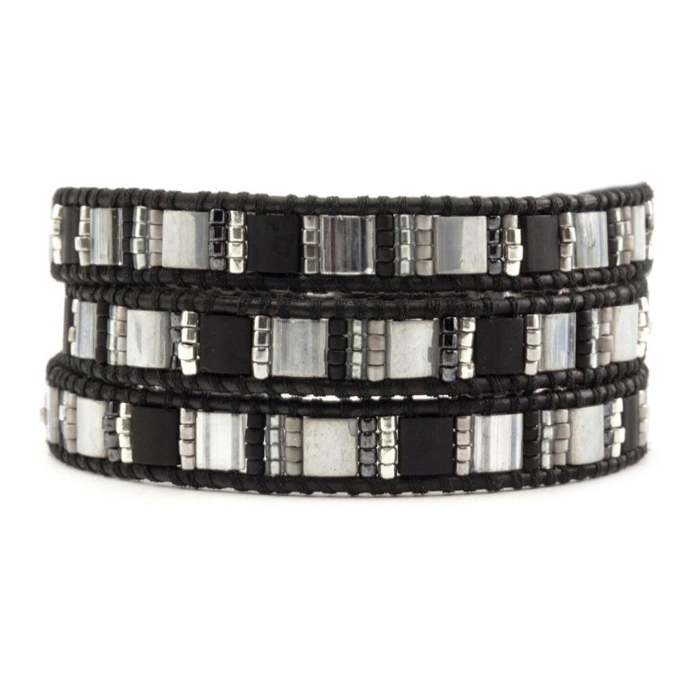Chan Luu Black Mix 3 Wrap Bracelet