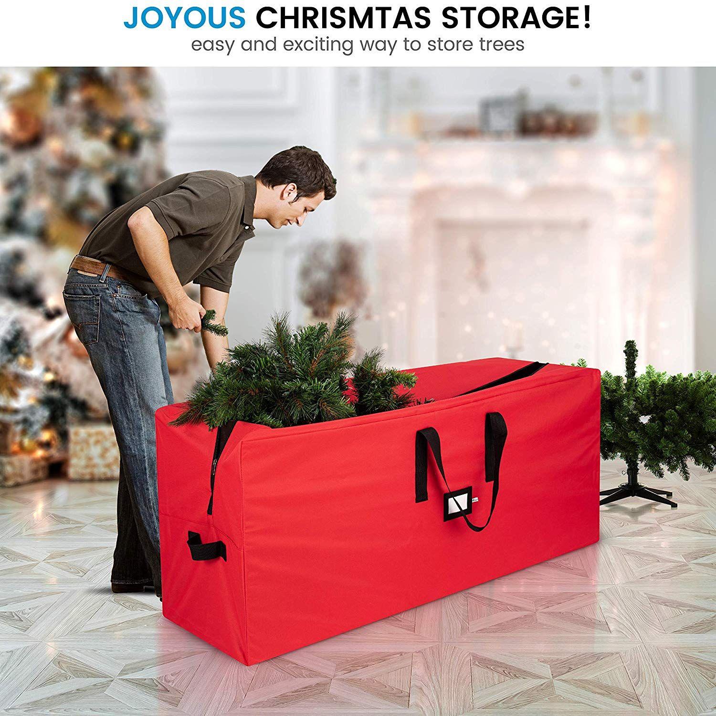 Zober Christmas Tree Storage Bag Premium 600d Polyester Artificial Christmas Tree St Christmas Tree Storage Christmas Tree Storage Bag Simple Christmas Decor