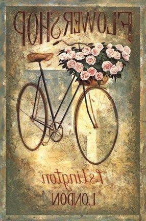 Flower Shop Transferencias De Imágenes Imagen De Espejo Carteles Vintage