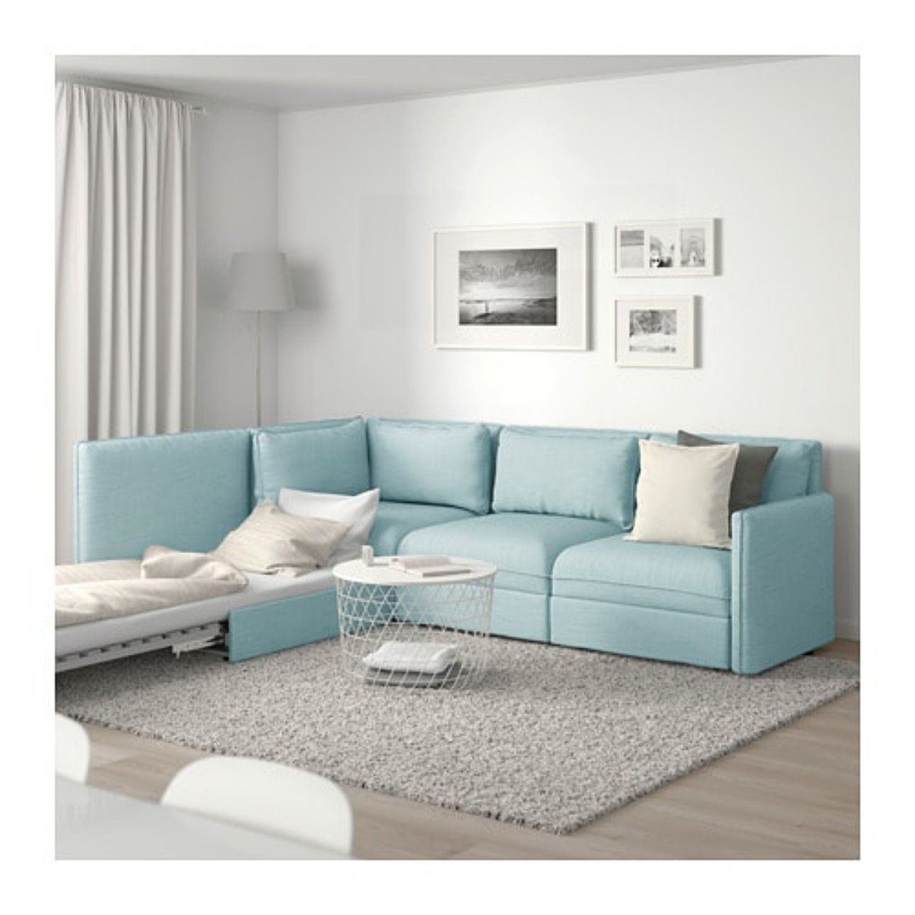 For the guest room/craft room Modular corner sofa, Ikea