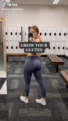 Best exercises for growing glutes