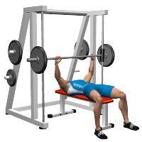 bench press smith machine  weight training programs