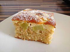 Rhabarberkuchen mit Schmandhaube von sandy07 | Chefkoch #falldesserts