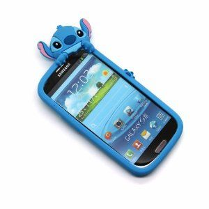 online store 5c9b7 afff2 Amazon.com: Disney Stitch Hide and Seek Silicone Case Cover for ...