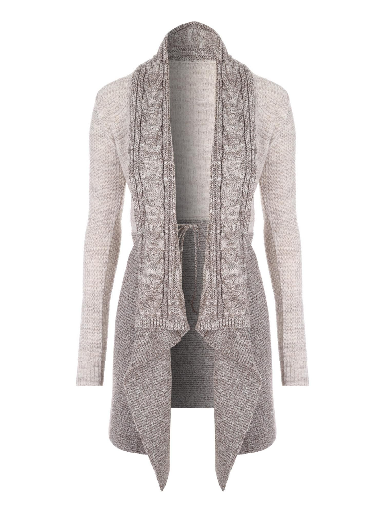 6a4de3e5 Buy your Jane Norman Two-tone Waterfall Cardigan online now at House of  Fraser.