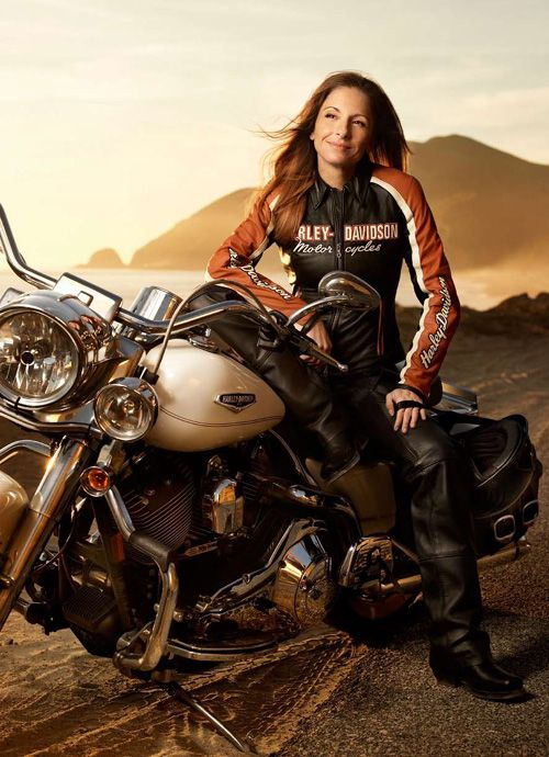 Harley Davidson Celebrates Women Riders Month Through