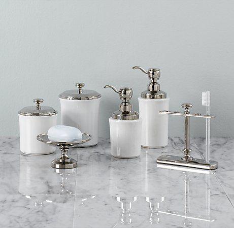 Lugarno Bath Accessories Restoration Hardware Bathroom Bath