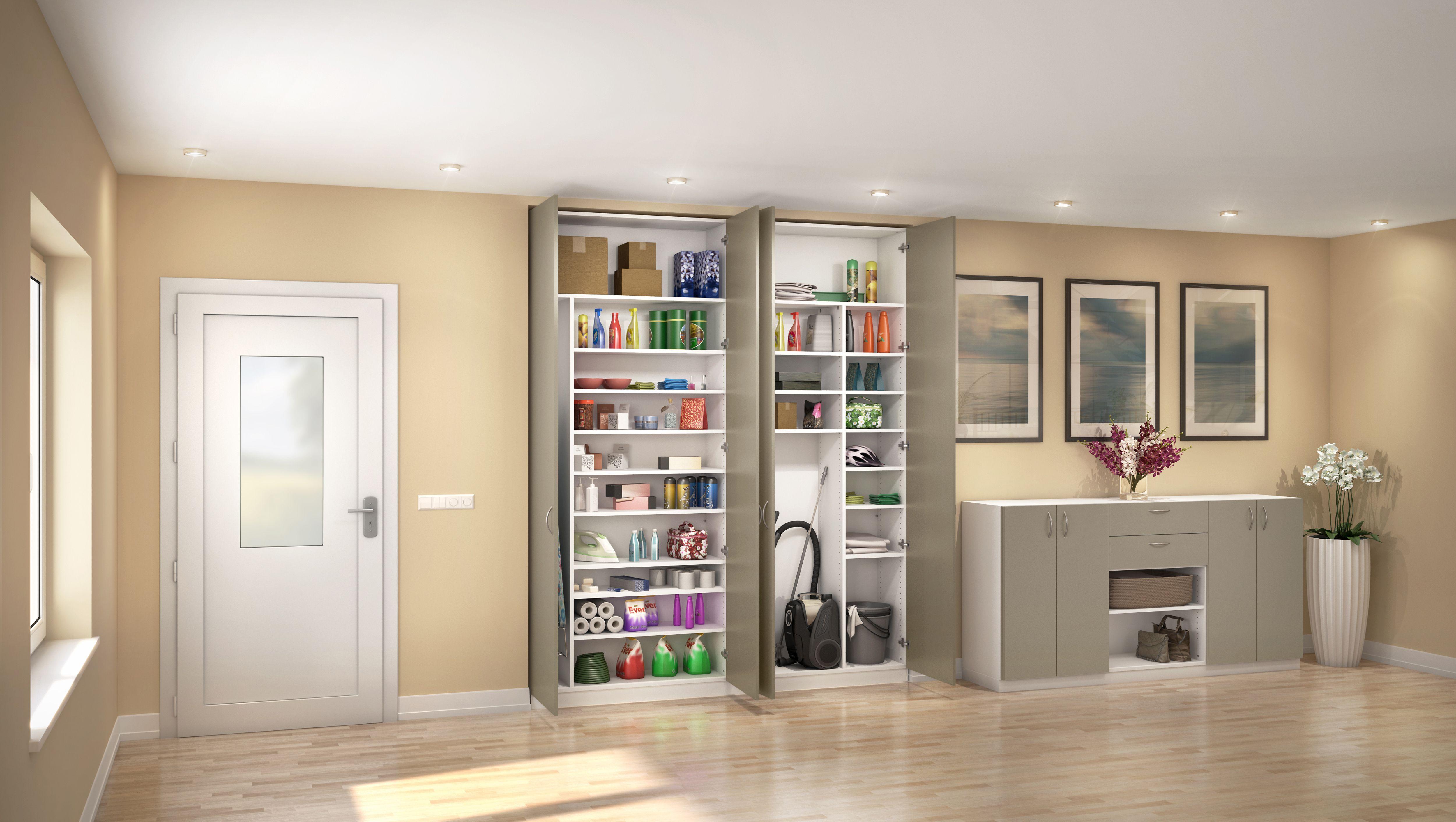 ecken und nischen lassen sich perfekt nutzen um haushaltsgegenst nde zu verstauen dieser. Black Bedroom Furniture Sets. Home Design Ideas