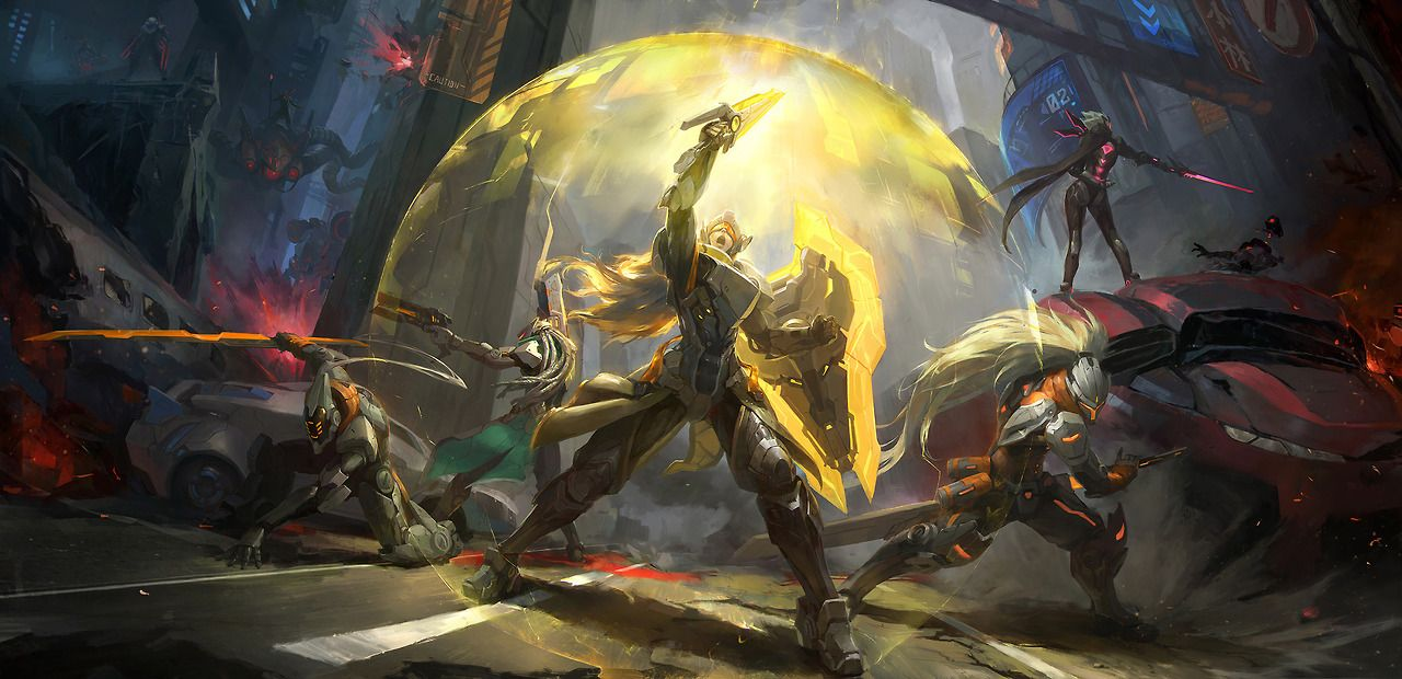 League Overpower Leona league of legends, Rpg, Anime