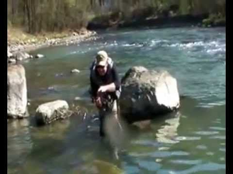 Fly Fishing In River Brenta-Pesca a mosca in Brenta