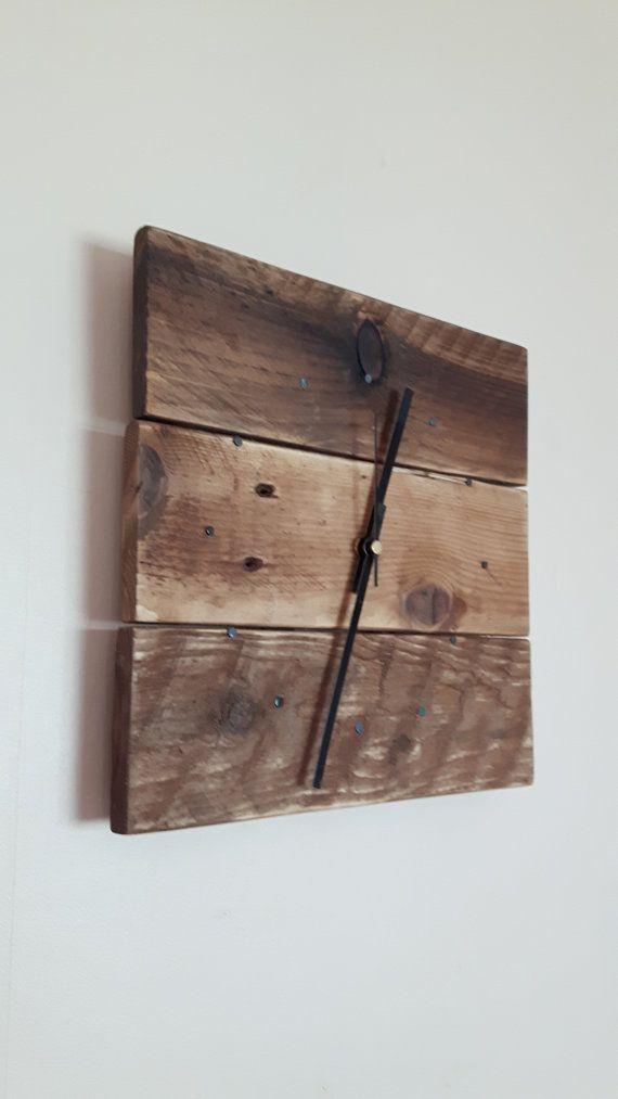 Reloj de pared reloj de pared de madera reloj de pared de frascos