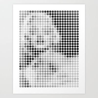 marilyn Art Print by dennisthebadger - $16.00
