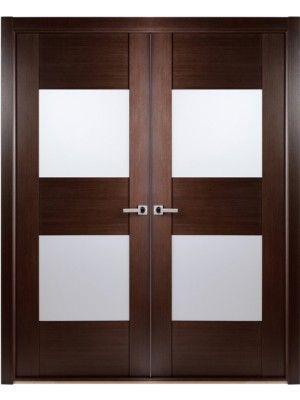 Contemporary african wenge interior double door with frosted glass contemporary african wenge interior double door with frosted glass made bybelwooddoors skumaximum planetlyrics Images