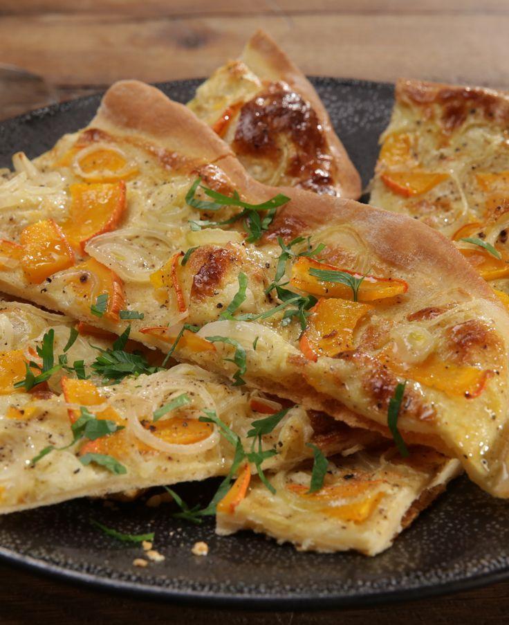 Zwiebel-Kürbis-Kuchen #herbstgerichte