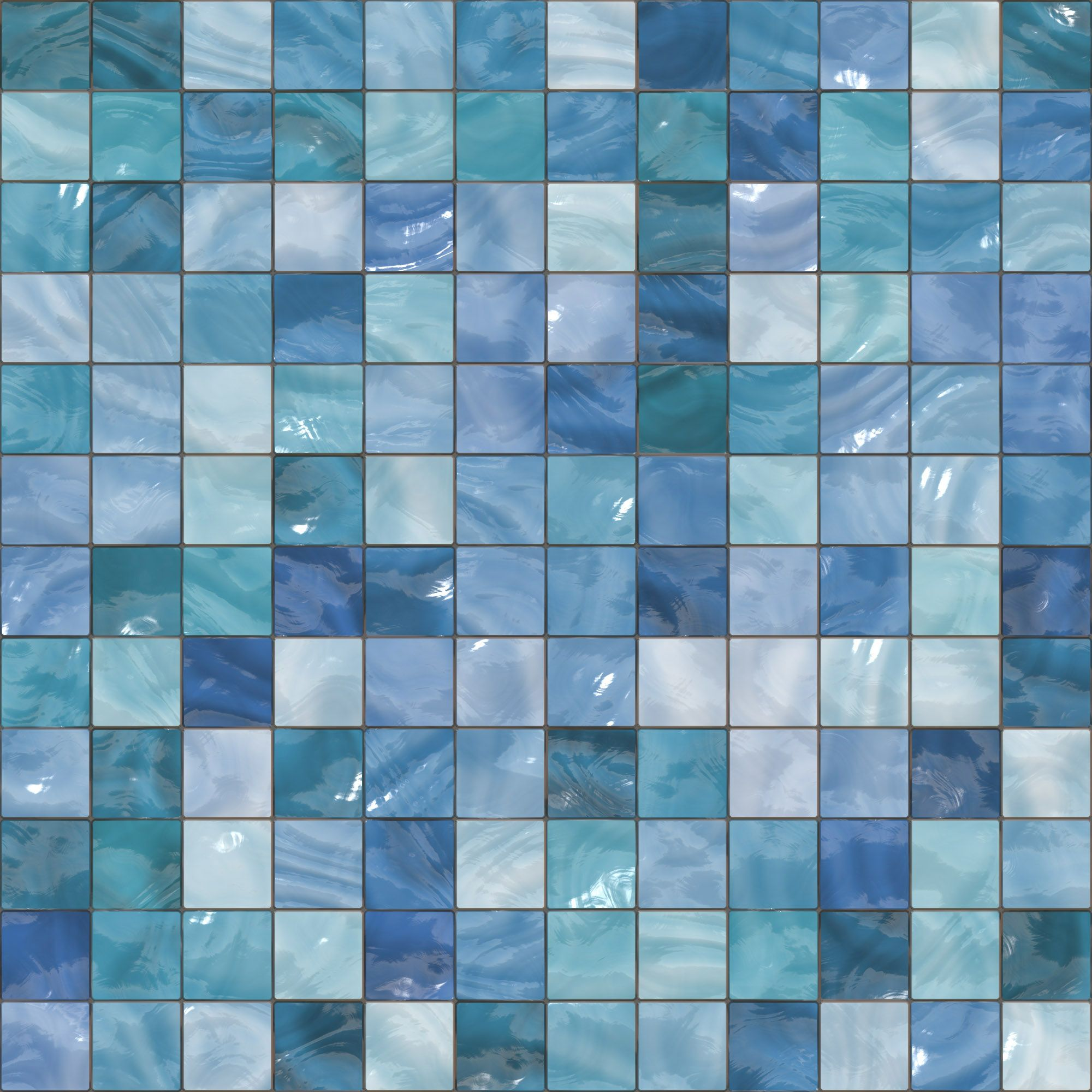 blue / green generated seamless tile background texture