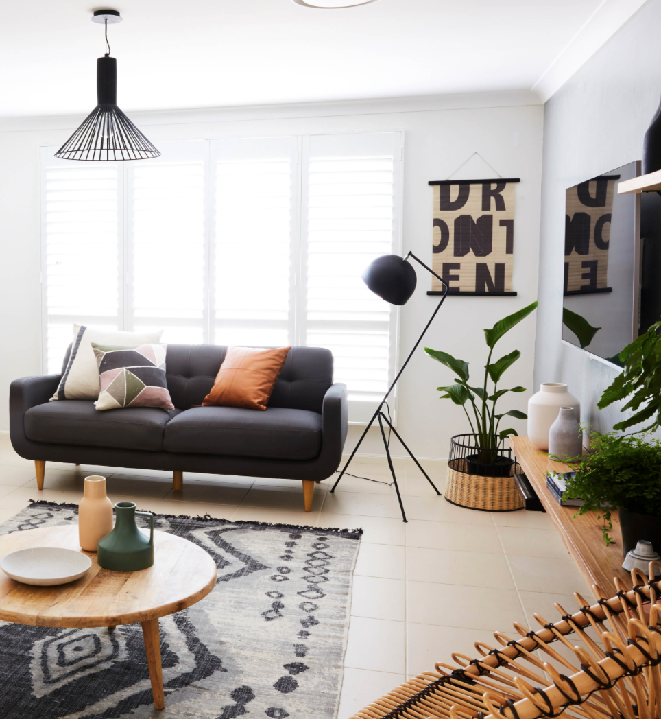 From bleak to warehouse chic | Industrial living rooms, Industrial ...