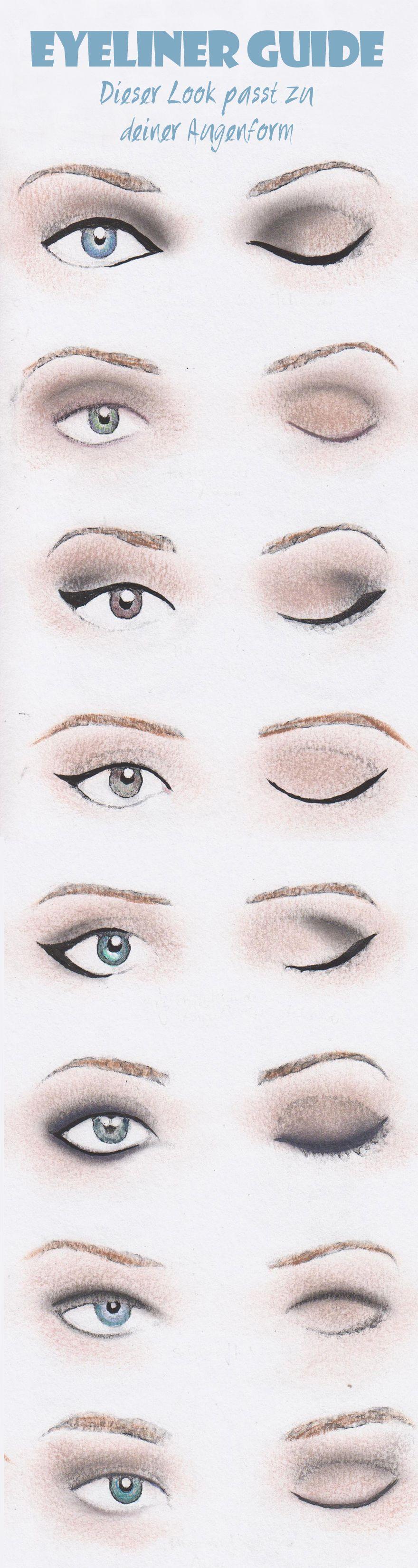 Richtig Schminken Dieser Eyeliner Passt Zu Ihrer Augenform