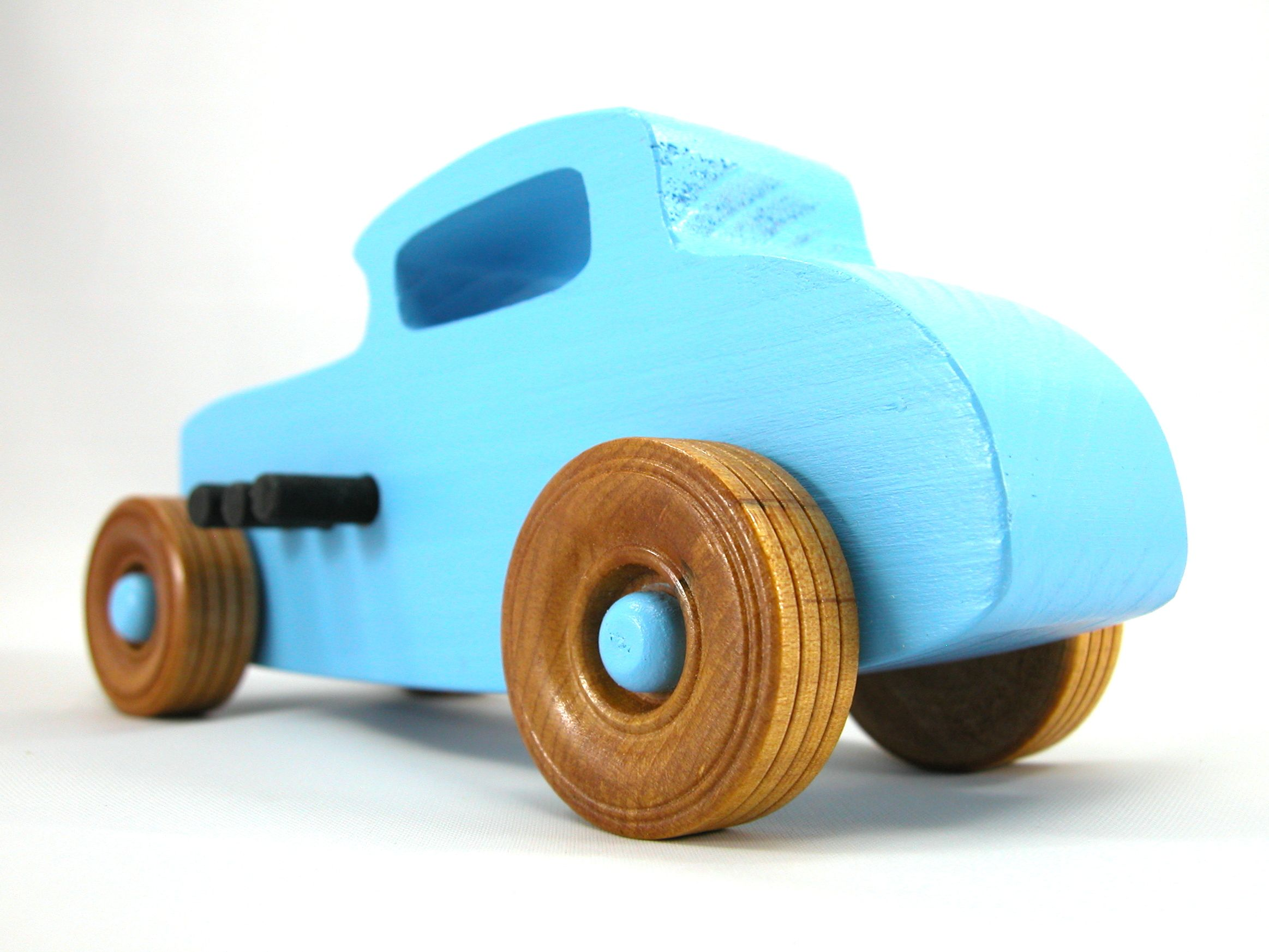 Wooden Toy Car 32 Ford Deuce Coupe Little Deuce Coupe Hot Rod Race Car Street Rod Dragster Speedster Wood Toy Boys Girls