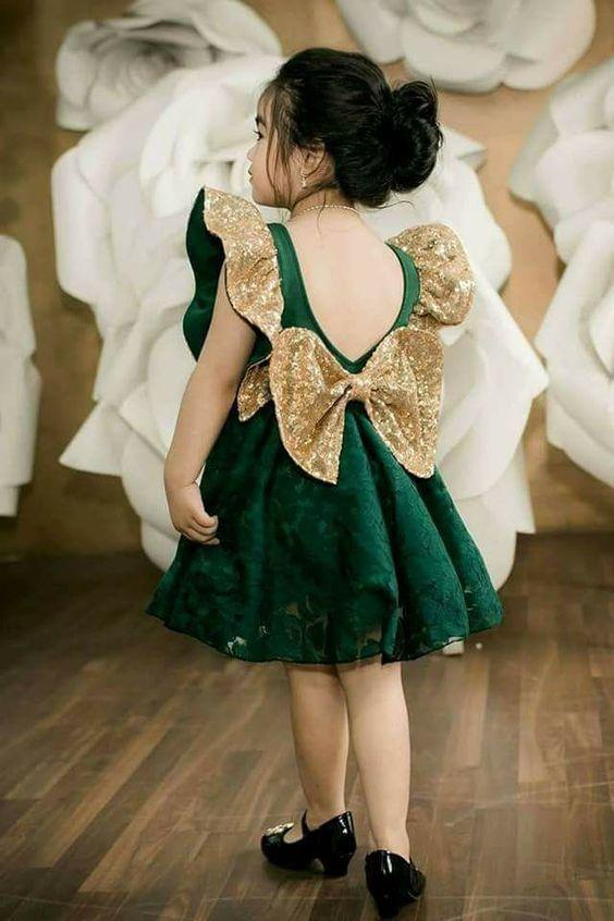 صور فساتين اطفال تجنن فساتين اطفال افراح جديدة Girls Frock Design Kids Designer Dresses Baby Frocks Designs