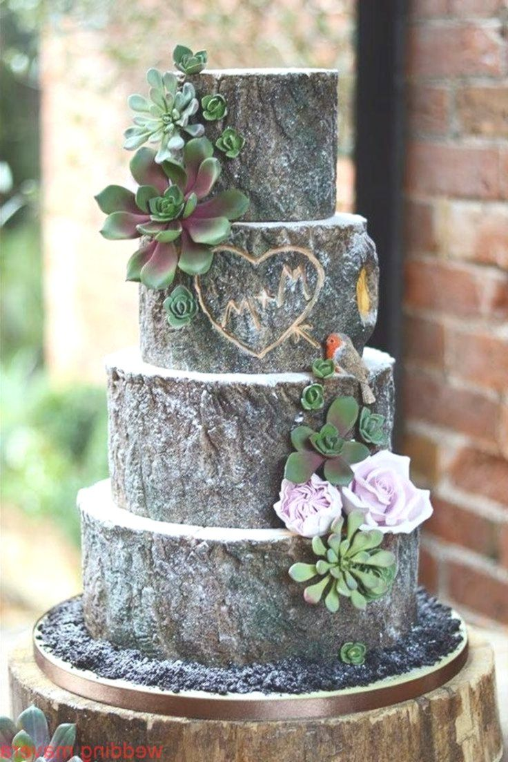 48 Rustic Camo Wedding Cakes Ideas Themed wedding cakes