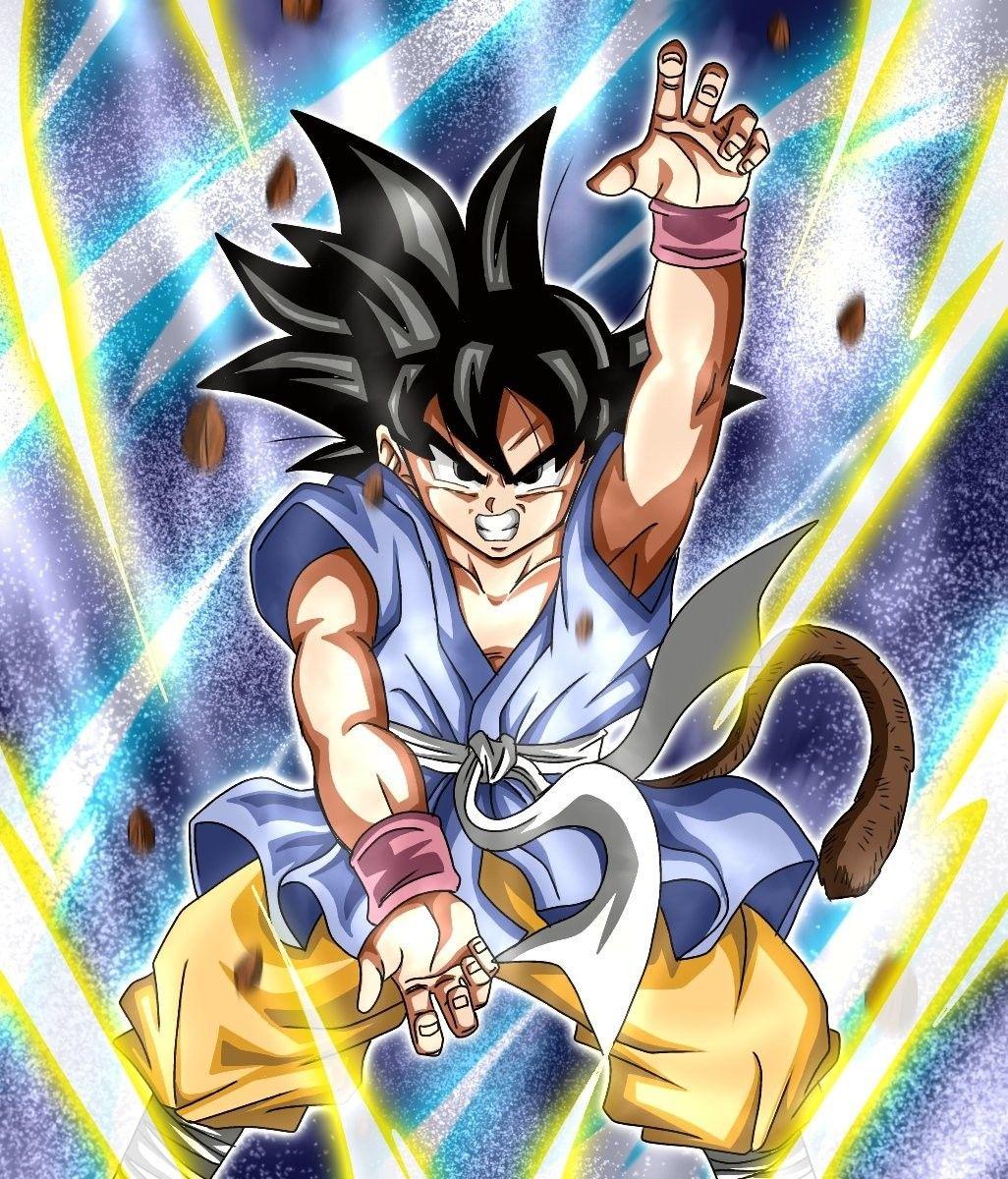 Kid Goku Dragonball Gt Anime Dragon Ball Super Dragon Ball Artwork Dragon Ball Art