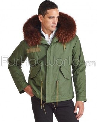 Shop FurHatWorld for the best selection of Military Parka Coats ...