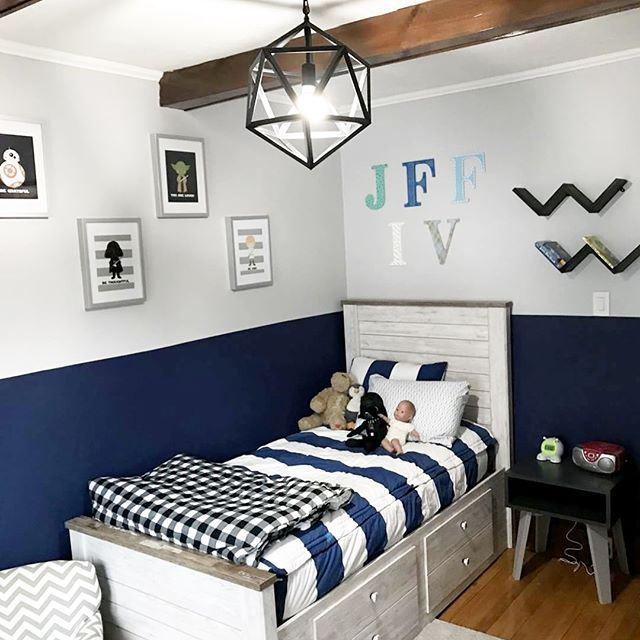Wake Up To A Fresh Bedroom Style: This Is From Our Sweet Customer: My Son Had Been Waking Up