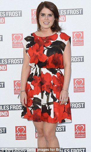 Princess Eugenie (pictured in July) has been showcasing a trimmer figure of late