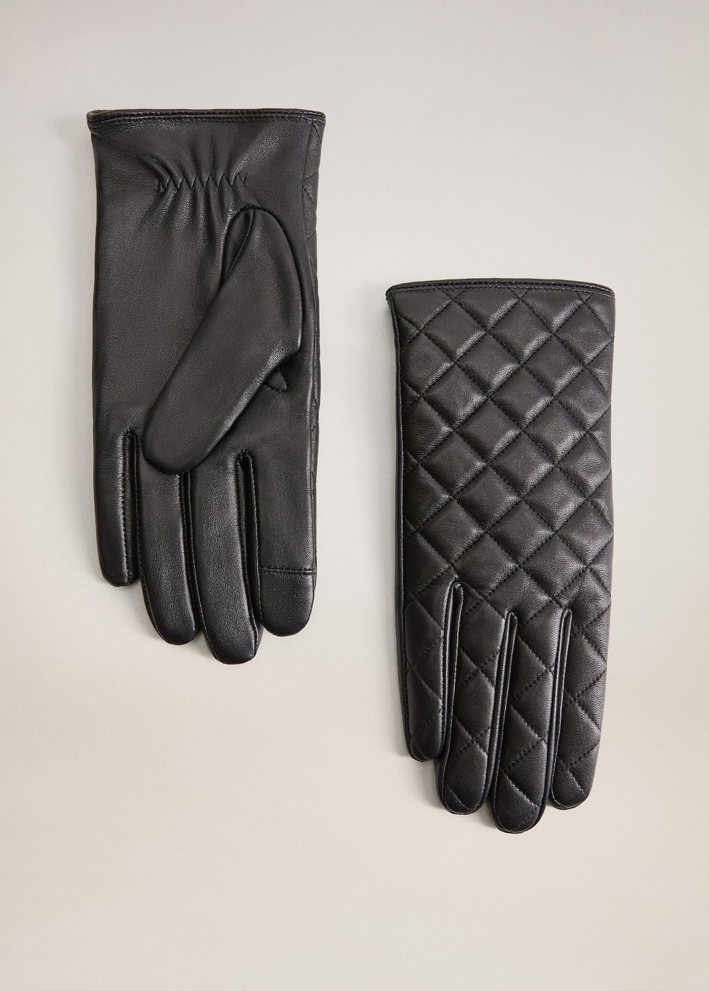 Leather gloves Women Mango USA in 2020 Leather