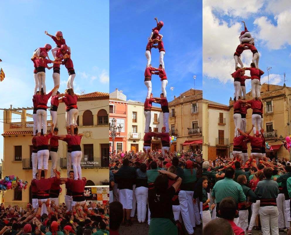 #CastellsCulturcatTotcat #FestesmajorsCulturcatTotcat Castellers De Lleida Culturcat-Totcat
