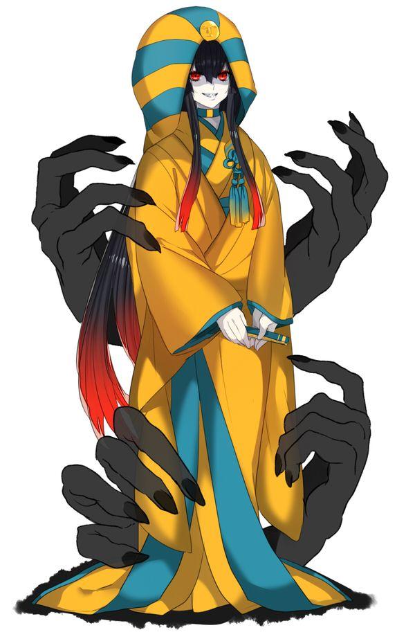 #563 - Cofagrigus (5th Gen)   Pokemon Gijinka   Pokémon ...