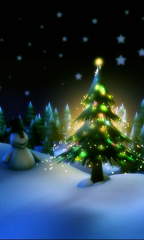 Christmas Tree 15 Android Wallpapers, HTC TMobile G2