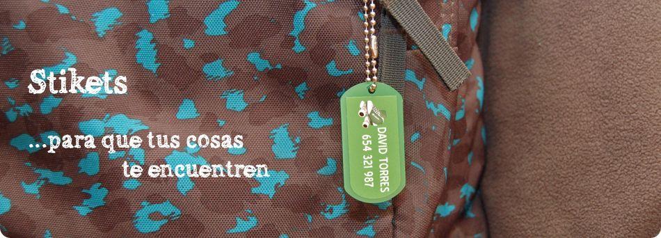 Stikets. Etiquetas personalizadas para marcar ropa, calzado, mochilas… - Stikets