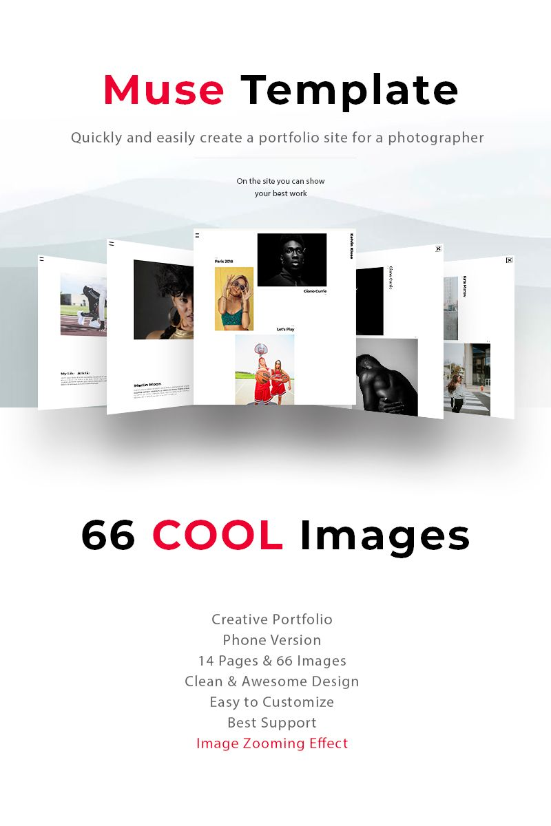 The Best Portfolio Of Photographer Kelvin Muse Template Muse
