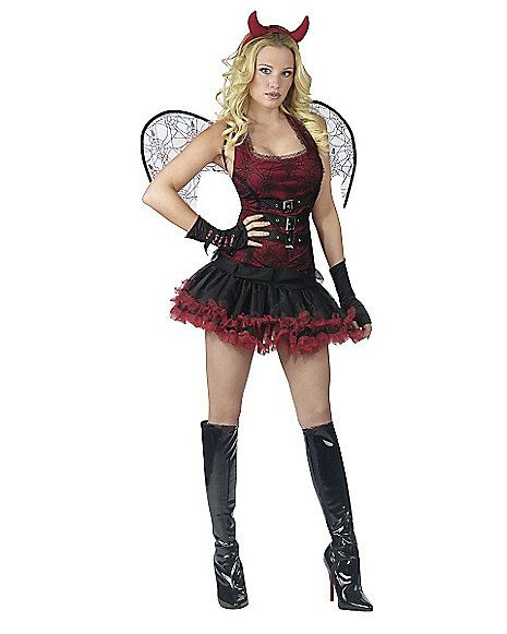 Adult Night Wing Devil Skirted Costume Spirithalloween Com