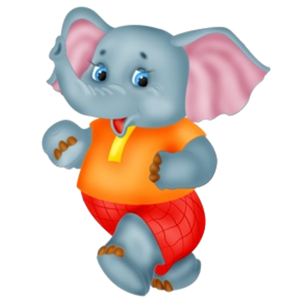 Cute Baby Elephant Cartoon Clip Art Images All Are On A Transparent Background