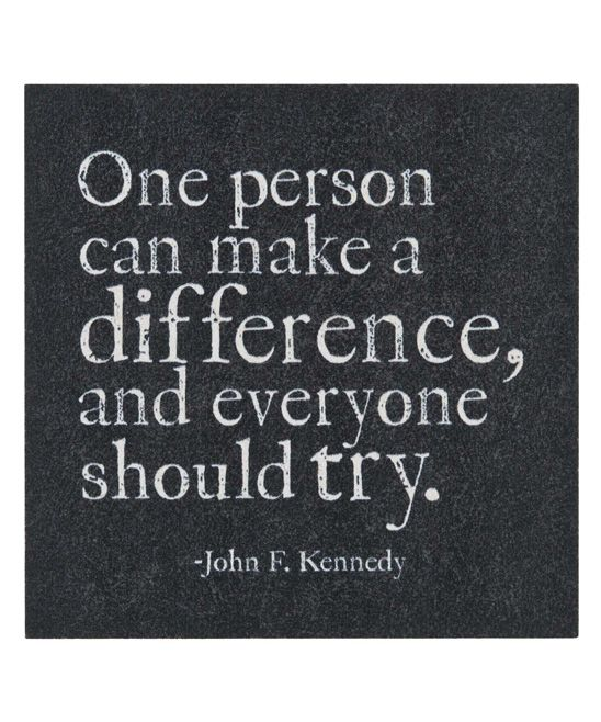 39 One Person Can Make A Difference 39 Magnet Something