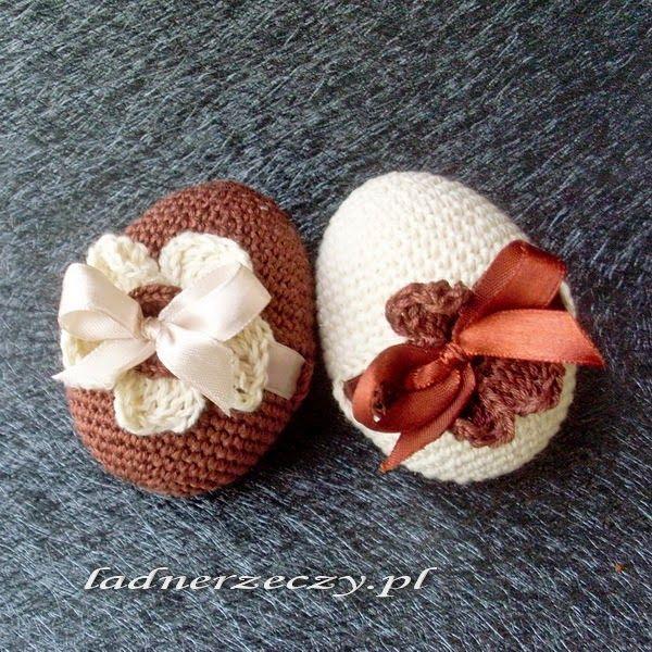 crocheted eggs / szydełkowe jaja | Crochet ideas para el hogar ...