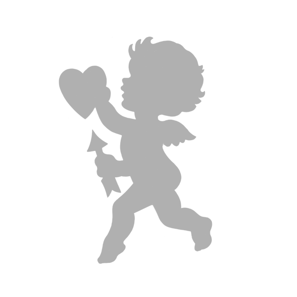 Art Start Stencil Cupid Boy 3 X 4 Valentine Cupid Stencils Valentines Svg