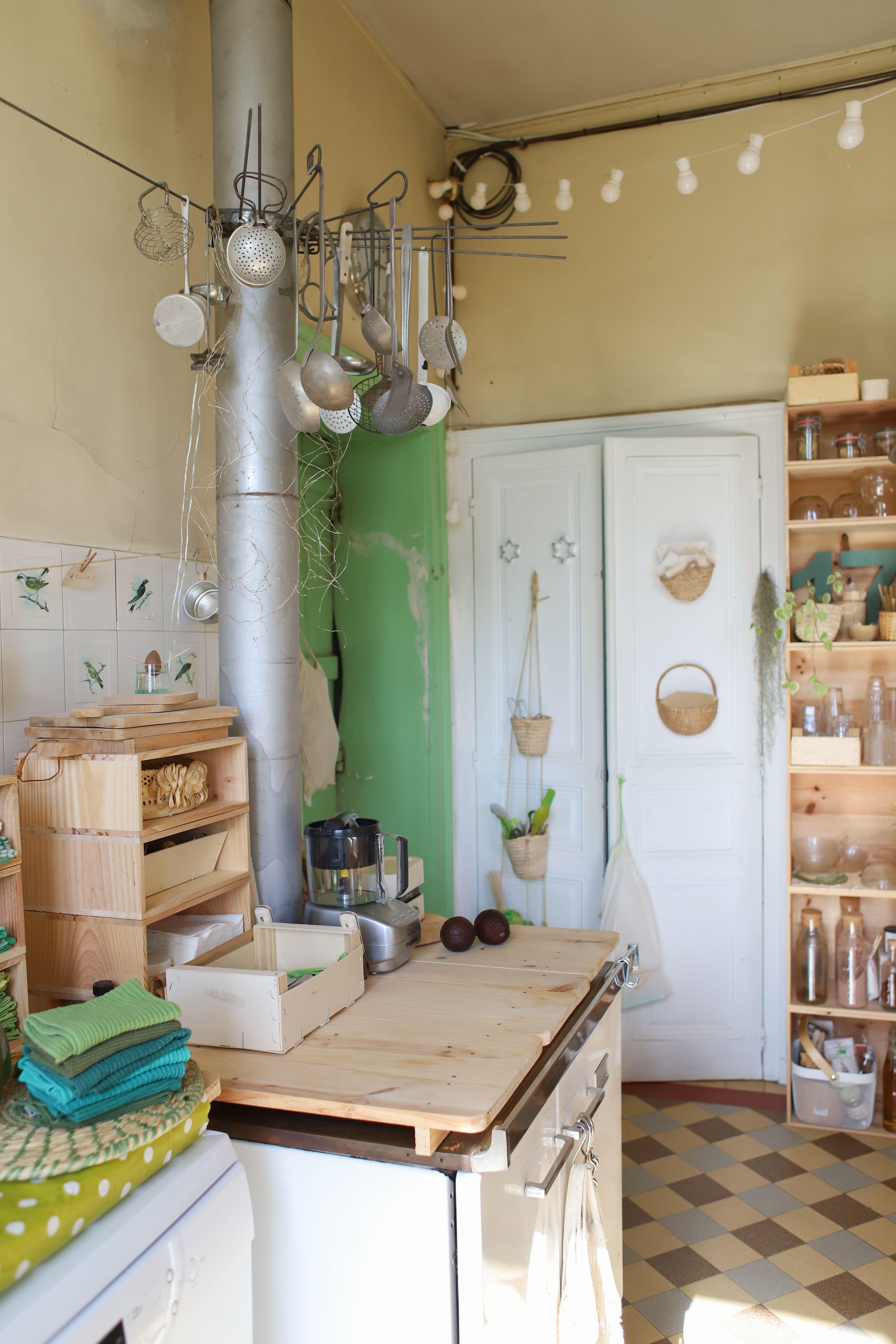 Cuisine vintage inspiration en 15  Déco maison, Deco