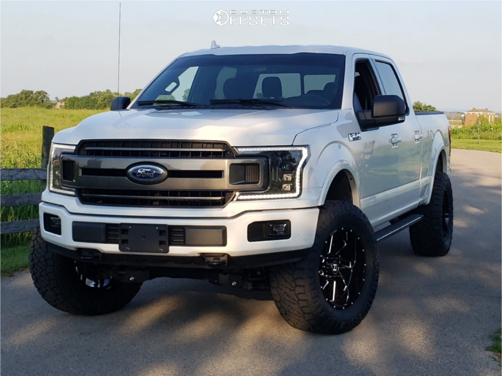 1 2018 F 150 Ford Bds Suspension Lift 4in Hostile Stryker Black
